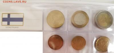 Подборка евро по типам (страны), 6 юбилейных - 20190728_070811