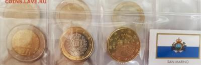 Подборка евро по типам (страны), 6 юбилейных - 20190728_071126