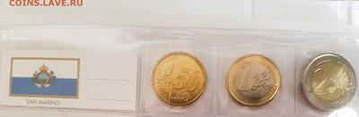 Подборка евро по типам (страны), 6 юбилейных - 20190728_071133