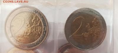 Подборка евро по типам (страны), 6 юбилейных - 20190728_071205