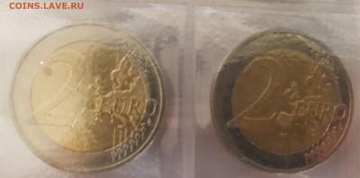 Подборка евро по типам (страны), 6 юбилейных - 20190728_071237