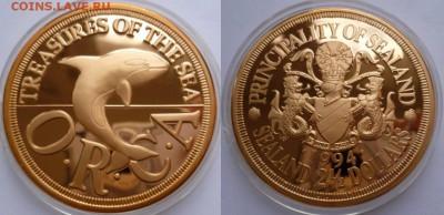 Силенд Необычные монеты - силенд