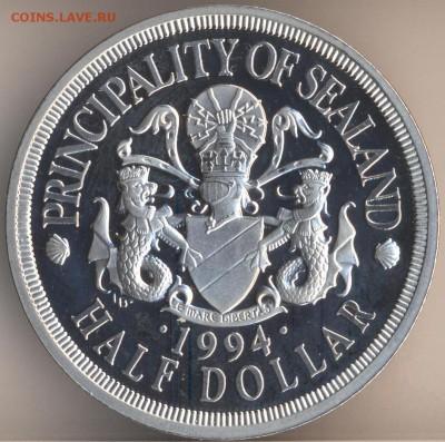 Силенд Необычные монеты - 1