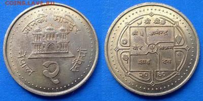 Непал - 2 рупии 2003 года (Магнетик) до 14.08 - Непал 2 рупии 2003
