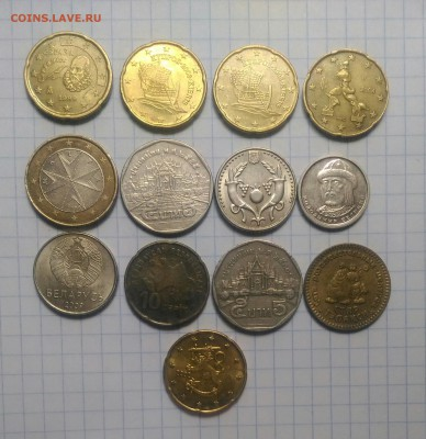 Солянка монет 13 шт до 14.09.19г в 22 00 - P_20190809_082056_1