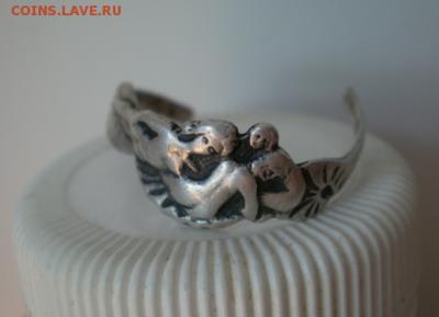 Кольцо серебро 84 проба с изображением трех девиц - Screenshot_233