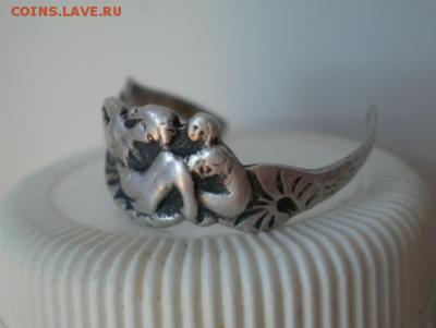 Кольцо серебро 84 проба с изображением трех девиц - Screenshot_234