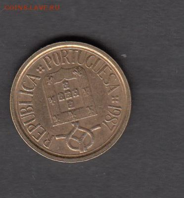 Португалия 1987 5 эскудо до 14 08 - 360