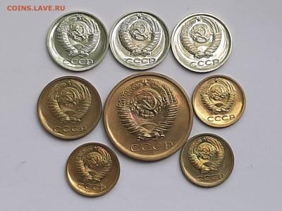 Наборные монеты 1-2-5 копеек. 8 шт. + бонус  до 19.08.22-00 - 20 коп 007