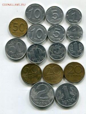 ГДР. Подборка.19 монет. 16.08 - img738