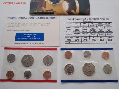 годовой набор монет США 1995 год - IMG_20190318_164258