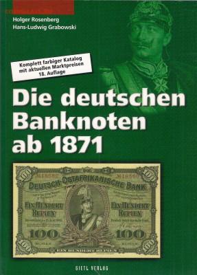 Сканы страниц каталогов банкнот и нотгельдов Германии - КАТАЛОГ НЕМЕЦКИХ БАНКНОТ С 1871 ГОДА РОЗЕНБЕРГ