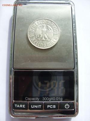 Германия, иностранщина (наборы, на вес, евро), царизм, СССР. - 5 марок Лютер 1933 - 3