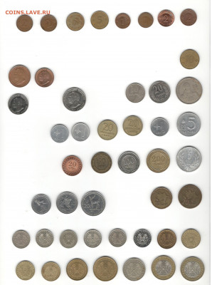 Монеты СНГ и Прибалтики. Регулярный чекан. Фикс цены. - СНГ 1