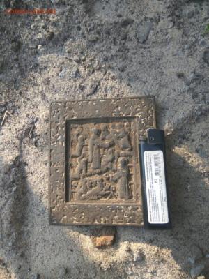 Икона бронза. 11х9,5 см - CrVl1qj-6xo