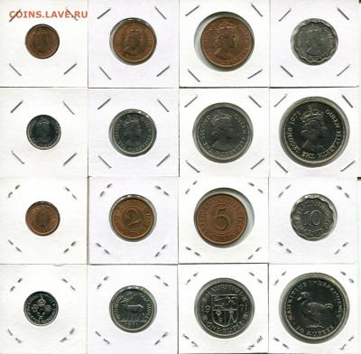 Маврикий подборка 1ц-10Р 1971 до 13.09.19 22-00 мск - Mauritius 1971 1c-10R
