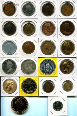 Медали с Королевой Елизаветой II до 13.09.19 22-00 мск - QEII med.a