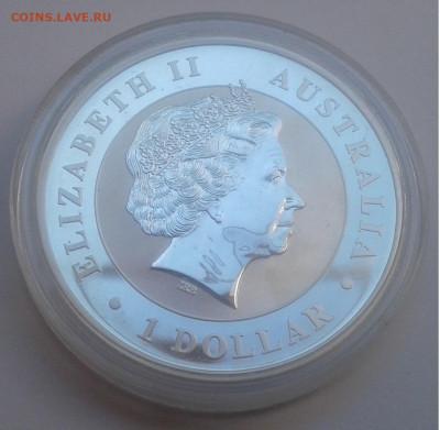 1$ Австралия.KOOKABURRA, 2012г. унция 999.до 17.09.19г.22:00 - 20190911_140137