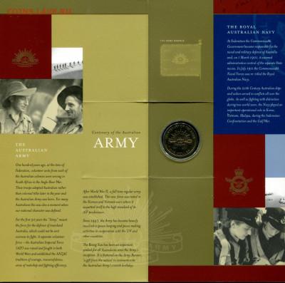 Австралия НЕЧАСТЫЙ набор 1$ 3шт Силы обороны до 15.09.19 - Aus.2001 set-r2