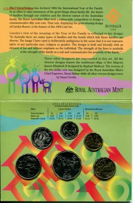 Австралия набор 1994 Год семьи до 15.09.19 22-00 мск - Aus.1994 set-r