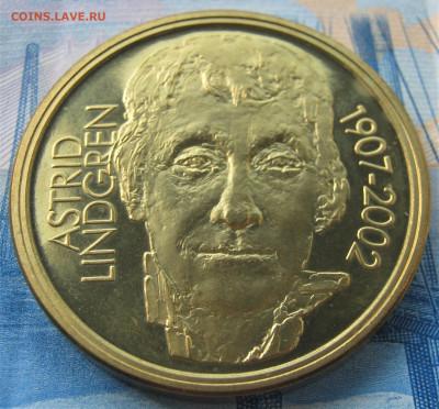ШВЕЦИЯ 50 крон 2002. Астрид Линдгрен 95. ПРЕДПРОДАЖНАЯ. - 022.JPG
