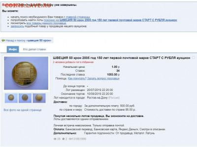 ШВЕЦИЯ 50 крон 2002. Астрид Линдгрен 95. ПРЕДПРОДАЖНАЯ. - ПРОХОД
