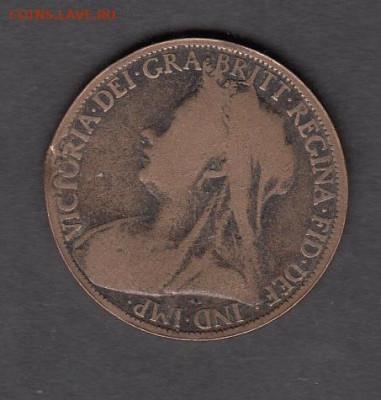 Великобритания 1900 1 пенни до 29 09 - 19
