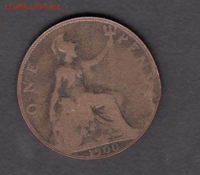 Великобритания 1900 1 пенни до 29 09 - 19а