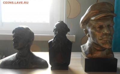 Барельеф Сталин,бюст Ленин,Толстой,Есенин 12.10.19 г. 22.00 - 1.JPG