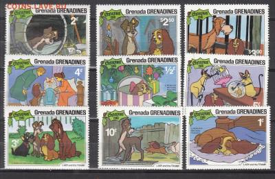 Гренада Гренадины 1981 мультфильмы Дисней 9м ** до 16 10 - 200