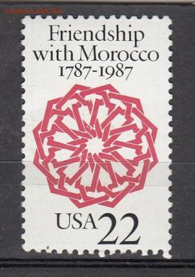 США 1987 1м** дружба с Марокко до 16 10 - 203