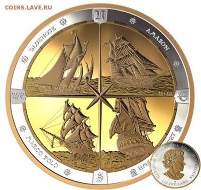 Монеты с Корабликами - Канада