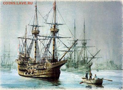 Монеты с Корабликами - La Armada Invencible, Guillermo Gonzalez de Aledo