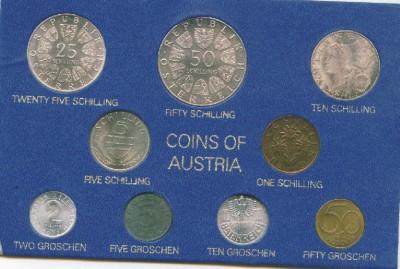 Набор Австрии 1972 серебро до 30.06 - Image6