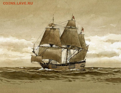 Монеты с Корабликами - Concord