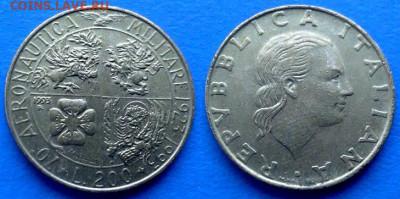 Италия - 200 лир 1993 года (Военная авиация) до 9.11 - Италия 200 лир, 1993