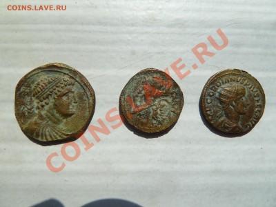 монеты доллар 1851, Рим,  Флавий Август - Рим2.JPG
