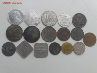Лот Нотгельдов и нечастых жетонов 17 шт с 200 руб до 13.11 - 20191107_133233
