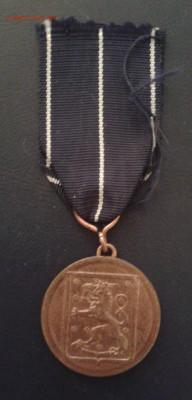 Медаль за войну 1939-45 гг. Финляндия - Фото-1959