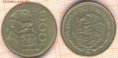 Мексика 100 песо 1987 г., до 15.11.2019 г. 22.00 по Москве - Мексика 100 песо 1987 8464