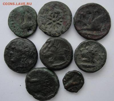 Пантикапей восемь монет - 1