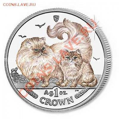Кошки на монетах - nadap090212774240231