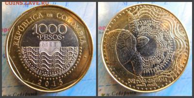 Колумбия 1000 песо, 2015 - 13