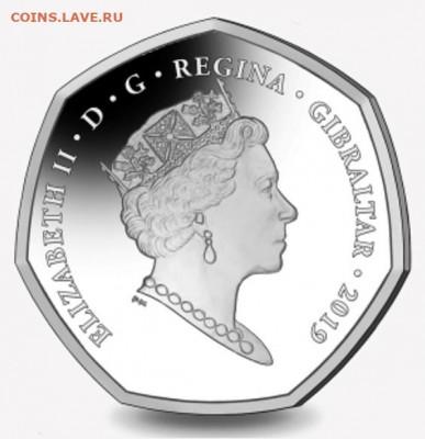 Кошки на монетах - Гибралтар-2019-4