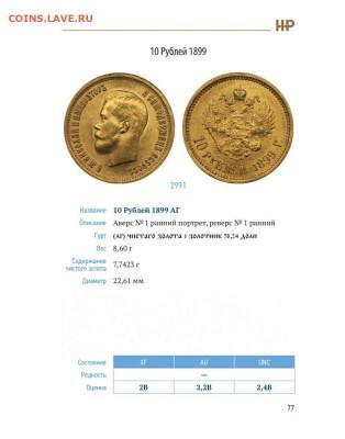 """Каталог """"Золотые монеты периода правления Николая II"""", фикс - 77.JPG"""