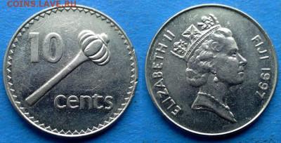 Фиджи - 10 центов 1997 года до 21.01 - Фиджи 10 центов, 1997