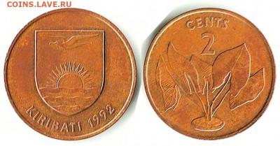 Кирибати - Кирибати 2 цента 1992 KM-2