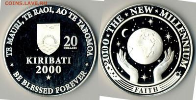 Кирибати - Кирибати 20 долларов 2000 FM KM-39