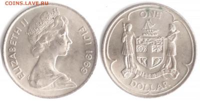 Фиджи - Фиджи 1 доллар 1969 KM-32