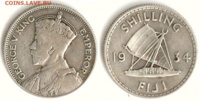 Фиджи - Фиджи 1 шиллинг 1934 KM-4